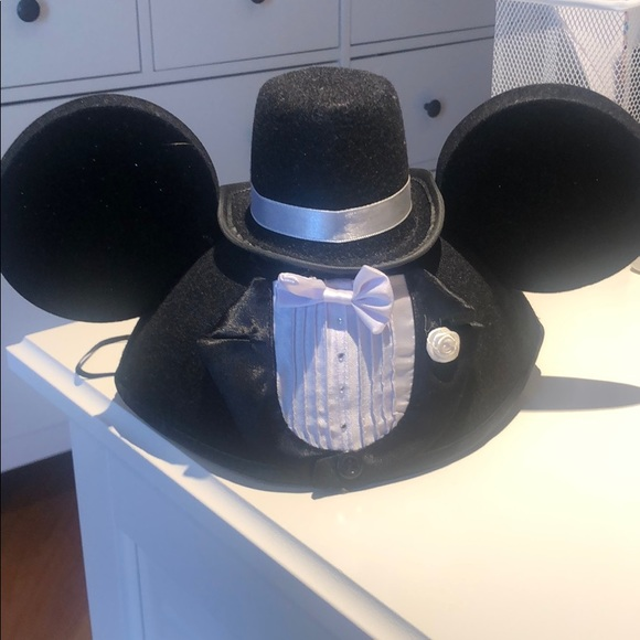 Accessories - Mickey Groom hat